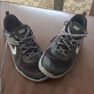 Nike Shoes - Nike black and gray athletic shoes